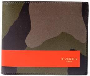 Givenchy Camouflage Print Bi-fold Wallet