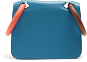 ROKSANDA Neneh wooden-handle leather clutch