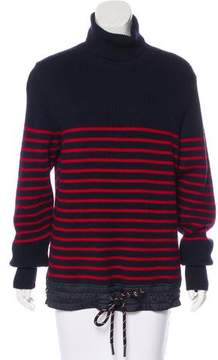 Moncler Striped Wool Sweater w/ Tags