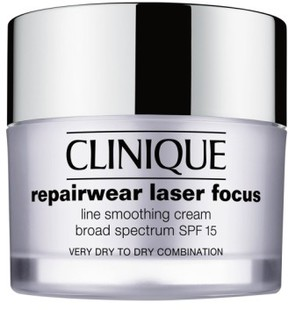 Clinique 'Repairwear' Laser Focus Spf 15 Line Smoothing Cream For Dry To Dry Combination Skin