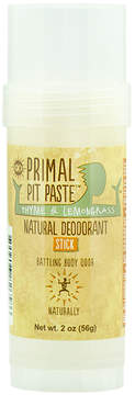 Smallflower Thyme and Lemongrass Stick Pit Paste by Primal Products (2oz Deo Stick)