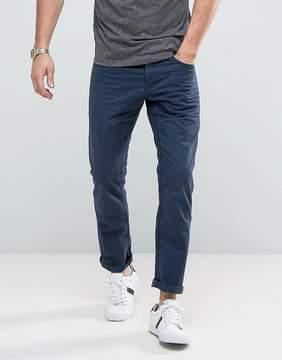 Esprit 5 Pocket Casual Pants in Navy