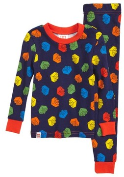 Lego Boy's Fitted Two-Piece Cotton Pajama Set