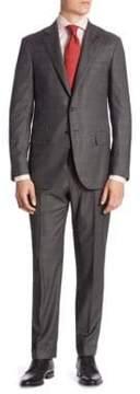 Isaia Plaid Suit