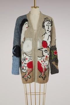 Stella Jean Embroidered coat