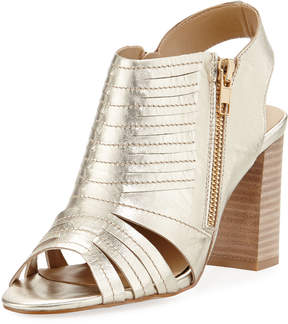 Neiman Marcus Benny Two-Zip City Sandal