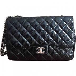 Timeless patent leather handbag