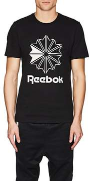 Reebok Men's BNY Sole Series: Star Crest Logo Cotton T-Shirt