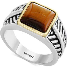 Effy Men's Tiger's Eye Ring in Sterling Silver