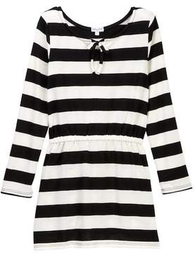 Splendid Stripe Loose Knit Dress (Little Girls)