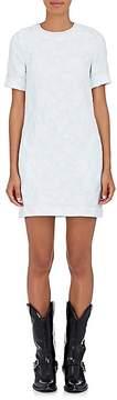 Calvin Klein Women's Floral Cotton-Blend Cloqué Shift Dress