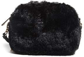 FOREVER 21 Faux Fur Mini Crossbody