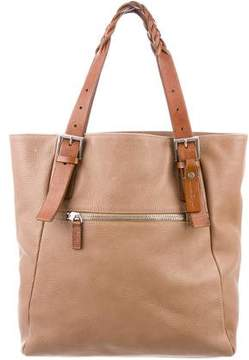 Salvatore Ferragamo Bicolor Shopper Tote