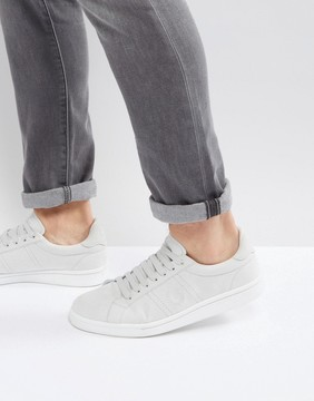 Fred Perry B721 Brushed Cotton Sneakers Gray