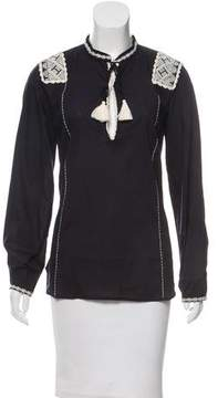 Figue Embroidered Long Sleeve Top w/ Tags