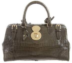 Ralph Lauren Crocodile Ricky Doctor Bag