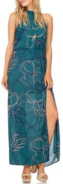 Everly Jade Maxi Halter Dress