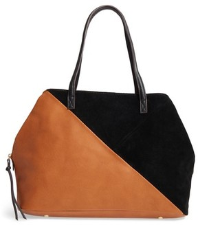Sole Society Millar Faux Leather Tote - Brown