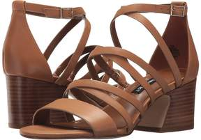 Nine West Youlo Strappy Block Heel Sandal Women's Shoes