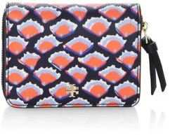 Tory Burch Kerrington Zip-Around Coin Wallet - FIORI - STYLE