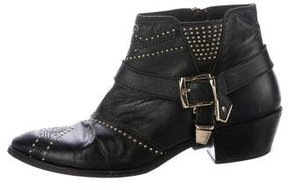 Anine Bing Studded Ankle Boots