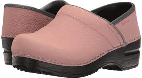 Sanita Signature Textured Oil Pro Women's Clog Shoes