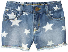 Gymboree Light Denim & Denim Star Shorts - Toddler