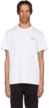 Givenchy White Archive Date T-Shirt