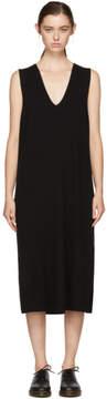 Alexander Wang Black Knit V-Neck Dress
