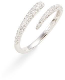 Bony Levy Women's Micro Pave Diamond Openwork Ring (Nordstrom Exclusive)
