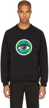 Kenzo Black World Eye Sweatshirt