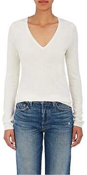 Barneys New York WOMEN'S FINE-GAUGE KNIT SILK-CASHMERE SWEATER
