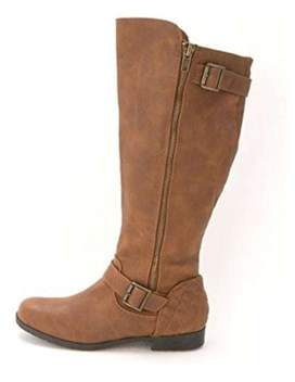 Material Girl Womens Larisa Closed Toe Knee High Fashion Boots.