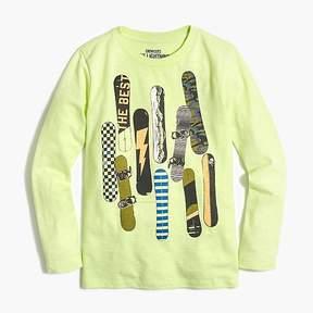 J.Crew Boys' long-sleeve snowboard T-shirt