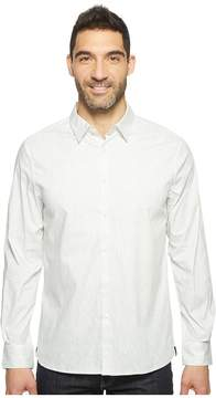 Kenneth Cole Sportswear Long Sleeve Abstract Slim Print Shirt Men's Clothing