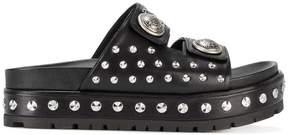 Alexander McQueen studded platform sandals