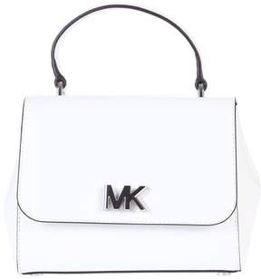 Michael Kors White Small Mott Handbag - WHITE - STYLE