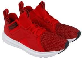 Puma Enzo Shift High Risk Red Black Mens Athletic Training Shoes