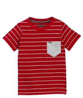 Hurley Solid Pocket Crew Tee (Little Boys)