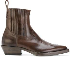 Maison Margiela western boots