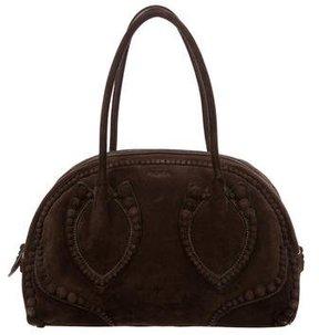 Alaïa Suede Clous Bow Bag