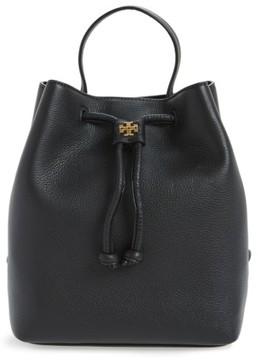 Tory Burch Georgia Leather Backpack - Black - BLACK - STYLE