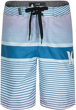 Hurley Boys 4-7 Line Up Striped Board Shorts