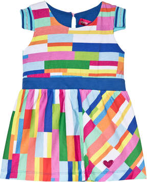Agatha Ruiz De La Prada Multicoloured Blue Waist Band Dress