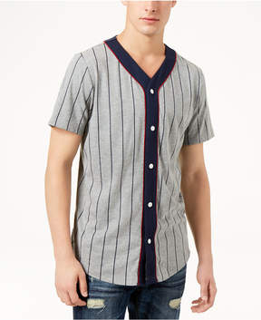 American Rag Men's Short Sleeve Baseball Shirt, Created for Macy's