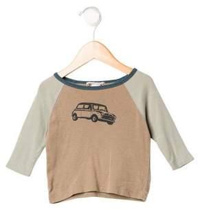 Bonpoint Boys' Car Print Long Sleeve Shirt