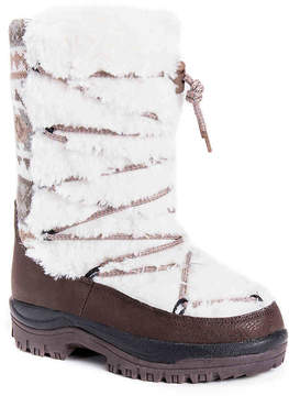 Muk Luks Women's Massak Fur Snow Boot