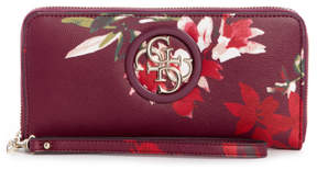 GUESS Open Road Large Zip-Around Wallet
