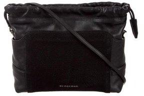 Burberry Little Crush Crossbody Bag - BLACK - STYLE