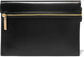 Victoria Beckham - Small Leather Clutch - Black